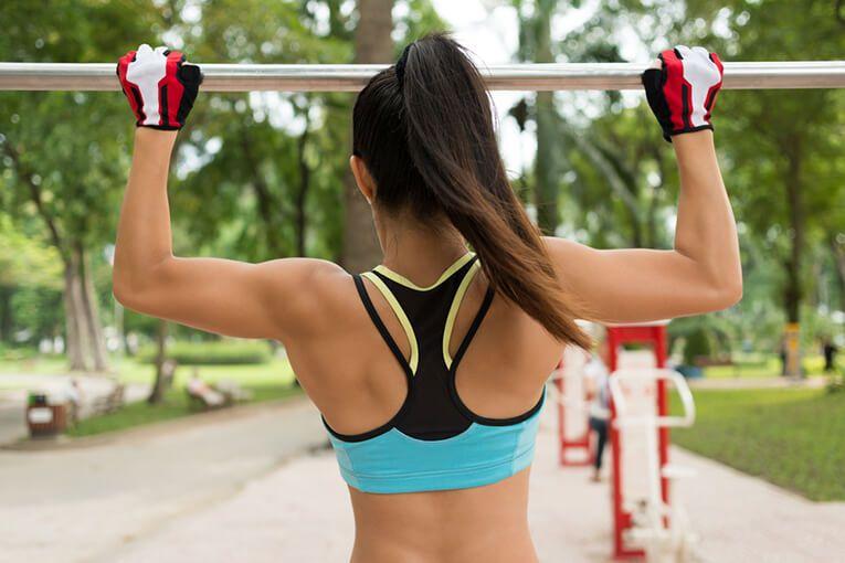 Какие работают мышцы при подтягивании широким хватом