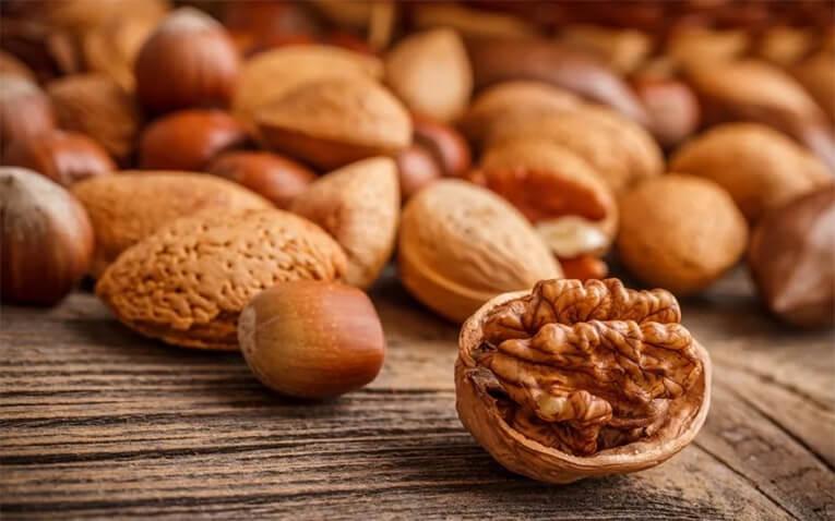 Орехи для мышц