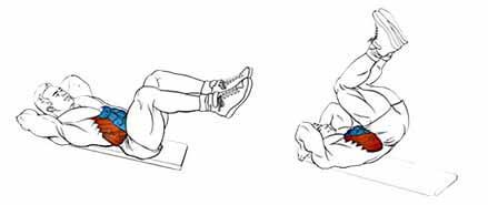 Подъем ног