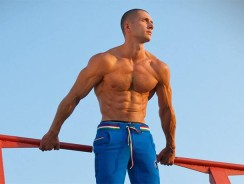 Тренировка мышц на турнике
